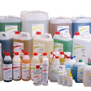 Дезинфицирующие и моющие средства